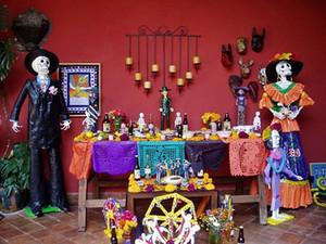 メキシコの死者の日のお祭り風景1