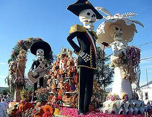 メキシコの死者の日のお祭り風景2